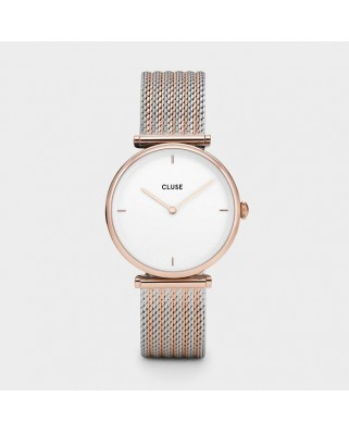 Triomphe Rose Gold Bicolour Mesh