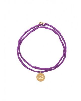 Barbora Eye Silk Cord Necklace/Bracelet