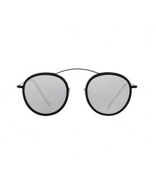 MET-RO 2 FLAT Black / Black / Silver Mirror