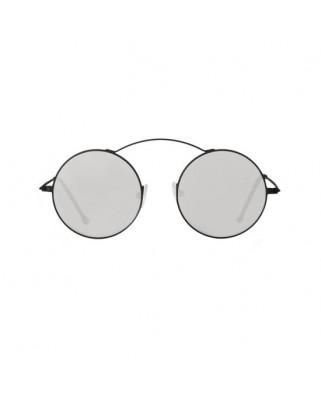 MET-RO Black / Silver Mirror