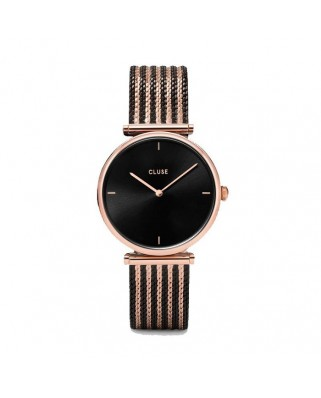 TRIOMPHE MESH BICOLOUR ROSE GOLD BLACK/BLACK